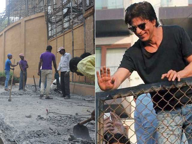 Shah Rukh Khan Reportedly Billed Rs 2 Lakhs by Civic Body For Ramp Demolition