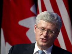 Canada PM Stephen Harper Denies Delaying Syrians Resettlement