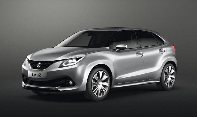 Suzuki ik2 premium hatchback front side profile picture