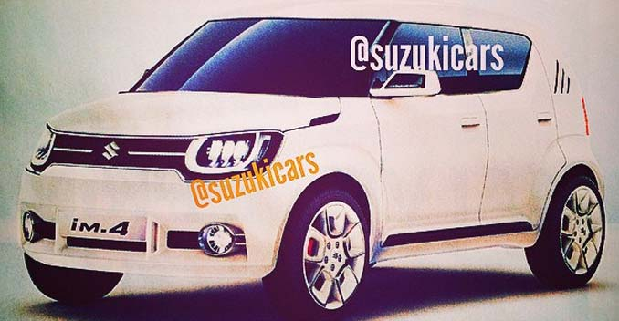 Suzuki's New Compact SUV and Hatchback: Photos Leaked