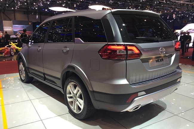 new car launches suvTata AriaBased Hexa SUV Unveiled at 2015 Geneva Motor Show