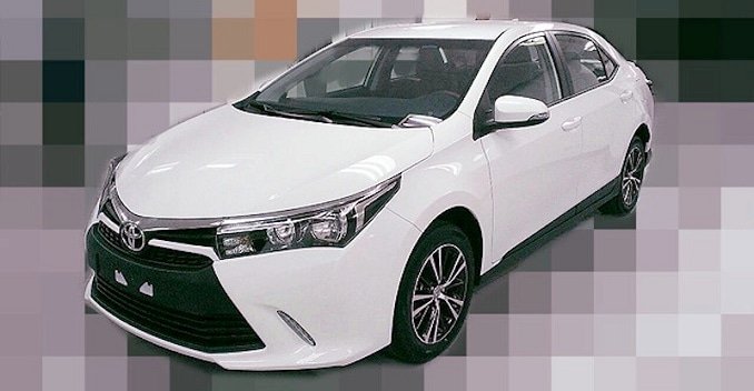 New Toyota Corolla Altis Facelift's Pictures Leaked ...