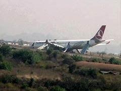 Turkish Airlines Plane Skids off Nepal Runway, Passengers Safe