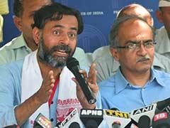प्रशांत-योगेंद्र के कार्यक्रम में जाने वाले 'AAP' कार्यकर्ताओं को पार्टी की चेतावनी