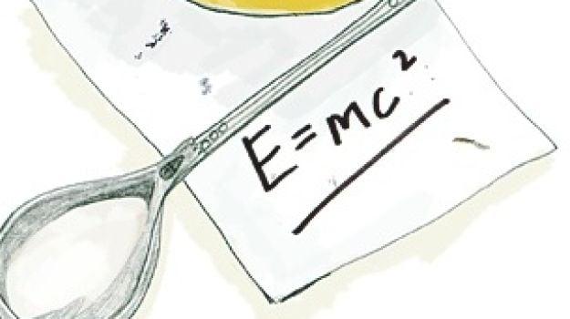 Breakfast of Champions: Albert Einstein's Fried Eggs in Honey