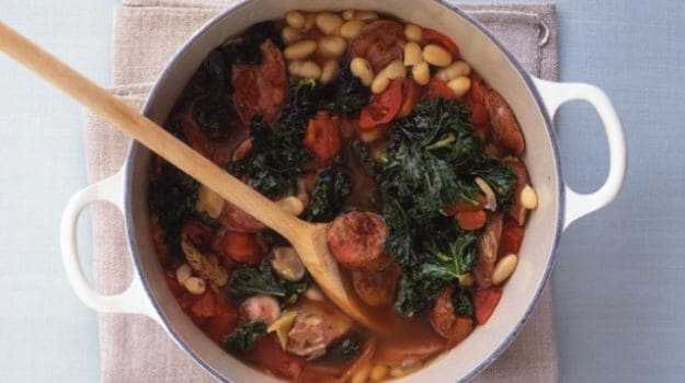 Sausage and Bean Stew | Back to Basics