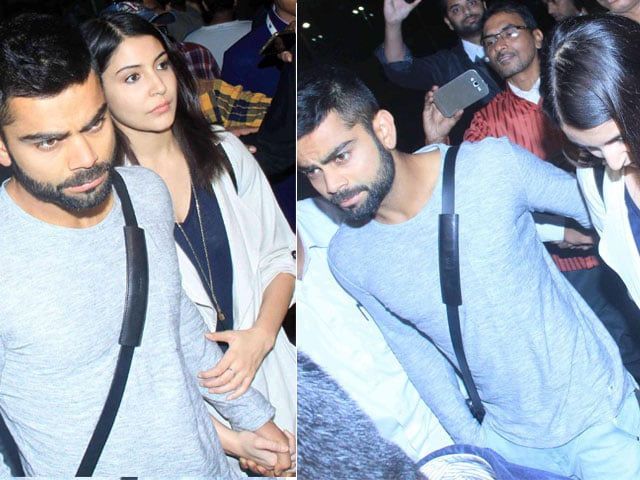 Anushka Sharma, Virat Kohli in Delhi; Star Baraatis at Suresh Raina's Wedding?
