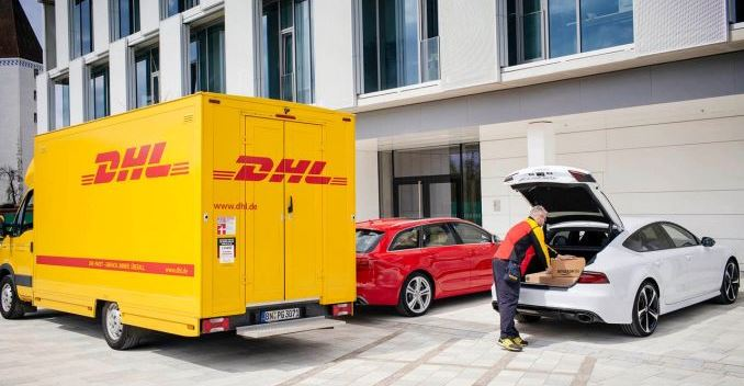 Audi, Amazon and DHL Will Now Deliver Packages Straight to Your Car