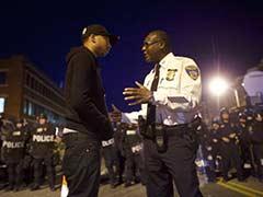 Police Enforce Curfew in Riot-Hit Baltimore
