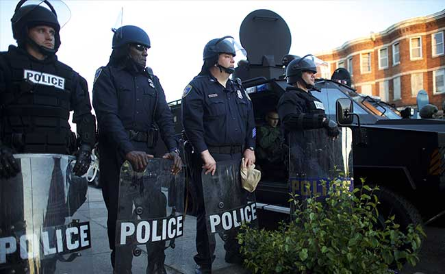 Baltimore Streets Quiet After First Night of Curfew Enforcement