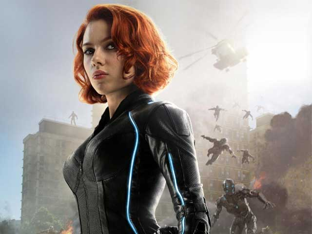 Avenger Scarlett Johansson Says a Black Widow Movie Would be 'Cool'