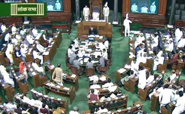 Government Tables Land Ordinance in Lok Sabha Amid Loud Protests