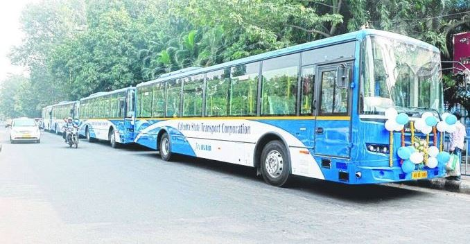 State Buses in Kolkata Now Have CCTV Cameras