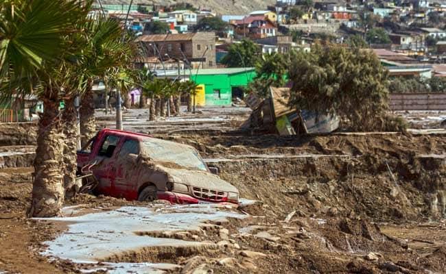 Flood Kills 26 in Chile