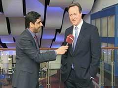 British PM David Cameron Says 'Phir Ek Bar Cameron Sarkaar'