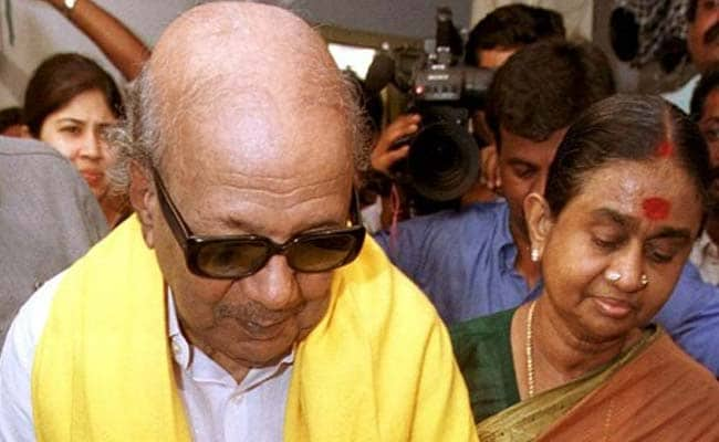 M Karunanidhi's Wife Dayalu Ammal Hospitalised: Report