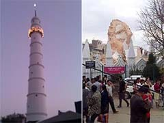 Historic Dharahara Tower Collapses in Kathmandu After 7.9 Earthquake