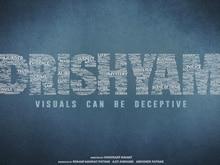 First Look: Ajay Devgn's <i>Drishyam</i> Logo