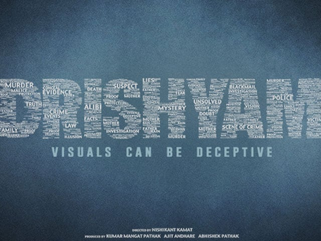 First Look: Ajay Devgn's Drishyam Logo