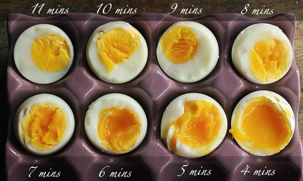 how to cook the perfect boiled egg from the fridge