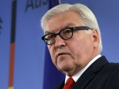 Germany's Foreign Minister Frank-Walter Steinmeier Meets Counterparts for Ukraine Talks