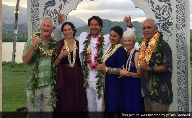 Hindu-American Lawmaker Tulsi Gabbard Gets Married in a Vedic