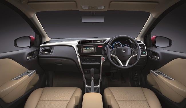 Honda City dashboard