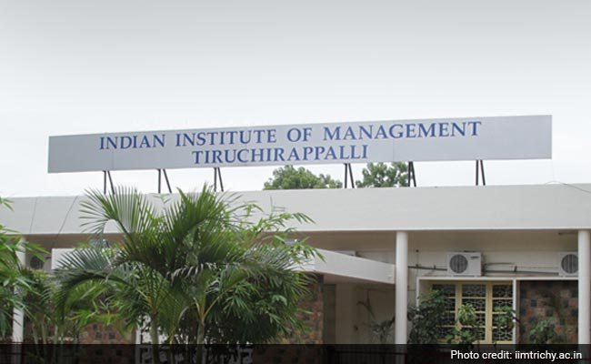 IIM Trichy Student Offered Rs 19.5 Lakh Salary