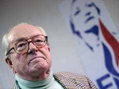 France's National Front Founder Jean-Marie Le Pen Pulls Out of Poll After Family Feud