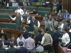 Chaos in Jammu and Kashmir Assembly as Opposition Targets Government Over Flood Relief