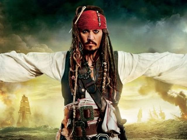 First Look: Johnny Depp as Jack Sparrow in Pirates of the Caribbean 5