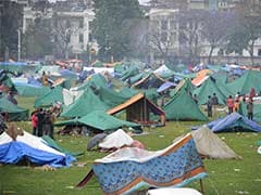 Nepal Earthquake: Kathmandu's Open Grounds Turn Into Camps for Frightened Residents