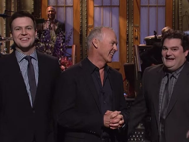 'Please be Batman.' SNL Cast Crash Michael Keaton's Monologue