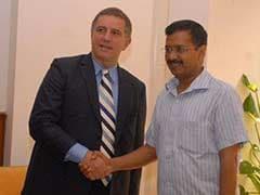 Delhi Chief Minister Arvind Kejriwal Discusses Key Issues With Israeli Ambassador