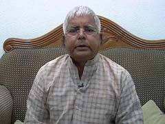 Who Else But My Son as My Successor, Says Lalu Prasad