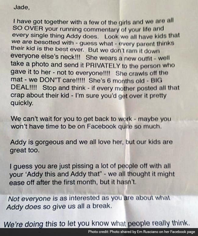 Letter off people piss who