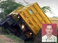 Truck Driver Who Allegedly Ran Over Morena Constable Arrested