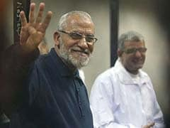 Egypt Court Confirms Death Sentence for Brotherhood Chief and 11 Others
