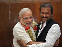 Mohan Babu Meets PM Modi, Invites Him for Son's Wedding
