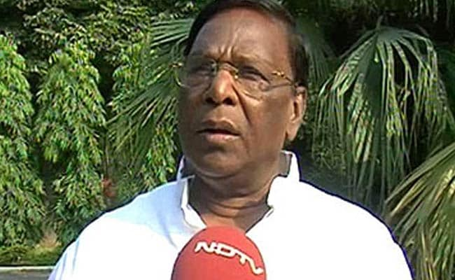 INX Media Case: Puducherry Chief Minister V Narayanasamy Defends P Chidambaram