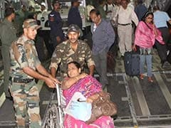 Air Force Planes Rescue Over 500 Indians From Earthquake-Hit Nepal
