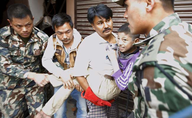 Indian Army Aid to Nepal Named 'Operation Maitri'
