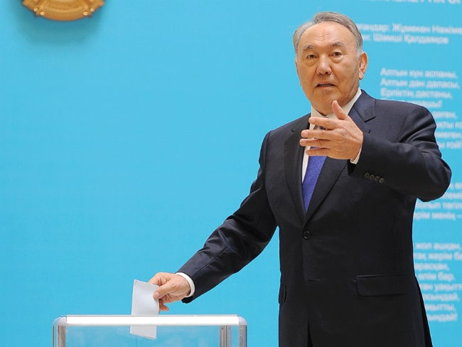 Kazakh President Nursultan Nazarbayev Wins Re-Election With 97.7 Per cent Votes: Official