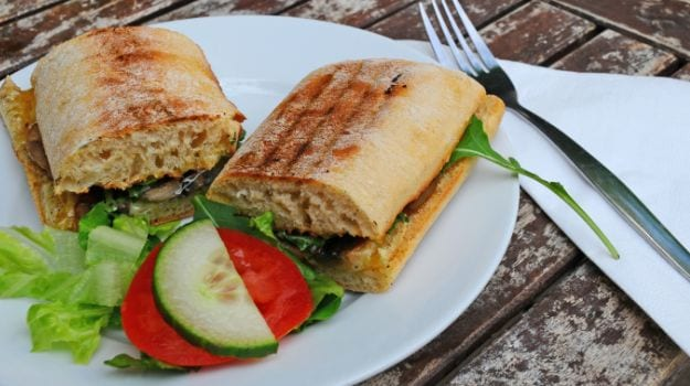10 best sandwich recipes ndtv food roasted broccoli and cheese panini forumfinder Choice Image