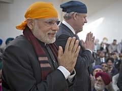 PM Narendra Modi Visits Gurudwara, Temple as He Wraps Up Canada Visit