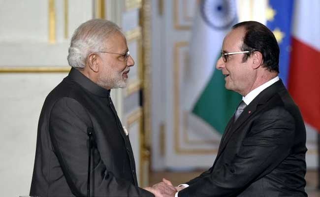 Full Text of PM Narendra Modi and French President Francois Hollande's Joint Statement