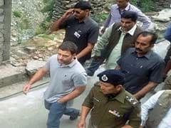Rahul Gandhi Begins Trek to Kedarnath Shrine