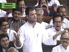 Yours is a 'Suit-Boot ki Sarkar', Rahul Gandhi Attacks Government in Parliament
