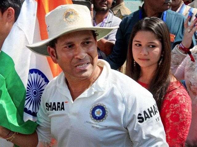 Sachin Tendulkar 'Annoyed' By Reports of Daughter Sara's Film Debut