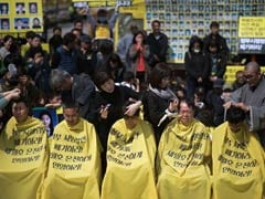 Parents of South Korea Ferry Victims Shave Heads in Protest